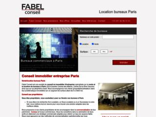 Capture du site http://www.fabelconseil.com