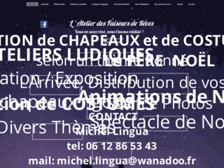 Capture du site http://www.faiseurs-de-reves.com