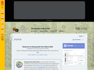 Fallout.wikia.com - Il wiki di tutti i Fallout, informazioni, trucchi, segreti e soluzioni