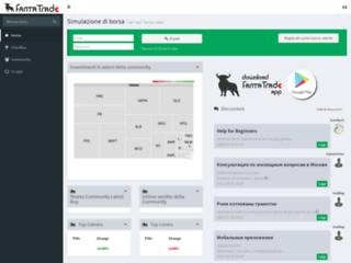 Info: Scheda e opinioni degli utenti : Fanta-Trade: Trading Simulazione di borsa