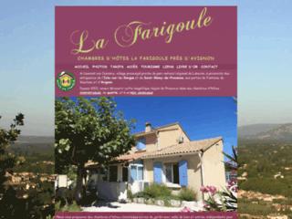 Week end  en famille dans le Vaucluse: La Farigoule herbergement en chambres d'hôtes