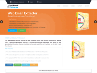 Web Email Extractor and Grabber