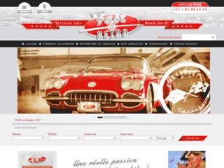 Détails : Voitures américaines classiques et muscle cars