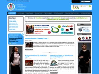 Capture du site http://www.femme-enceinte-grossesse.com