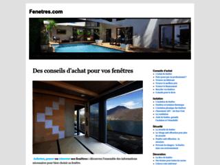 Capture du site http://www.fenetres.com