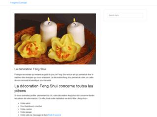 Feng Shui, outil de développement personnel sur http://www.fengshui-concept.be