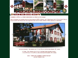 Chambres d'hôtes à la ferme - Arhansus au Pays Basque