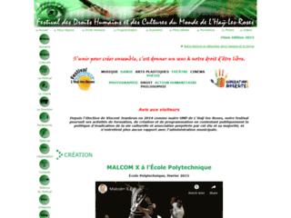 Festival des Dropits Humains et des Cultures du Monde