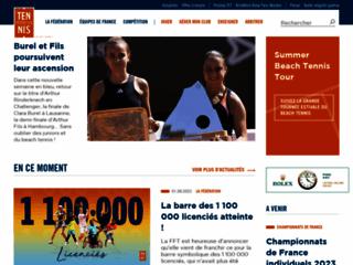 FEDERATION FRANCAISE DE TENNIS