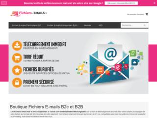 Détails : Fichiers-Emails.fr : Mailing en masse