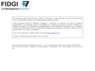 FIDGI Software, progiciels de gestion fiscale
