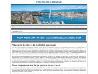 Aperçu du site Fiduciaire à Genève