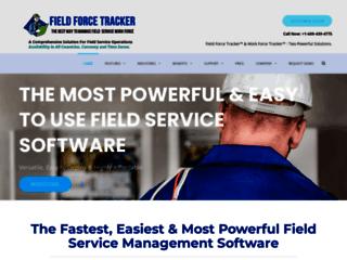 Field Service Management Software Field Force Tracker