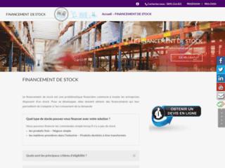 Détails : financement sur stock