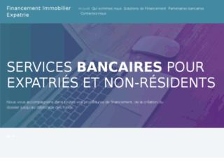 Financement immobilier expatrié