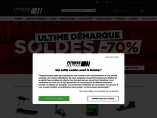 Fitness Boutique sur http://www.fitnessboutique.fr
