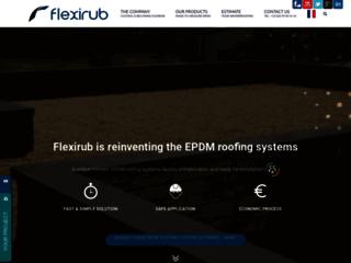 Flexirub constructeur de membranes et citernes