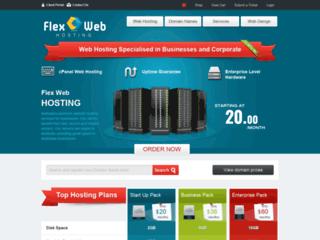 Australia Premium Web Hosting - Flex Web Hosting