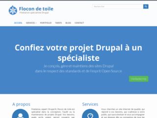 Capture du site http://flocondetoile.fr