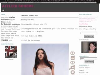 Atelier Boheme - création de bijoux en argile polymère/ stages
