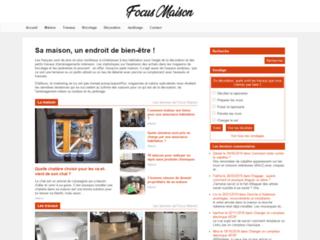 Aperçu du site Focus Maison