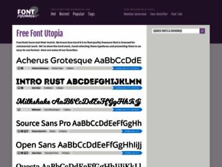 Info: Scheda e opinioni degli utenti : Fontsquirrel.com - Font gratuiti per progettisti grafici