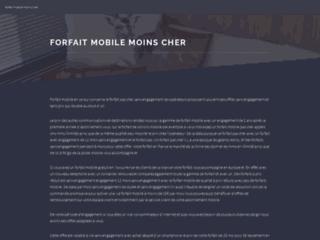 Capture du site http://www.forfait-mobile-moins-cher.com/