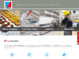 Froid industriel et commercial, cuisine professionnelle