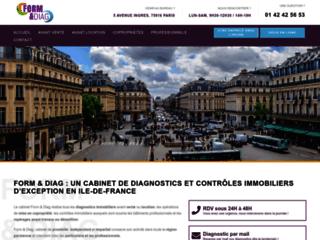 Diagnostic loi boutin et gaz Neuilly et Boulogne-FORM & DIAG