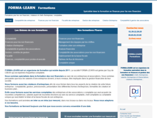 Forma-Learn : formation au business plan, formation comptable