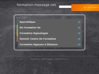Formation Massage sur http://www.formation-massage.net
