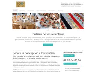 Capture du site http://www.formules-gourmandes.com