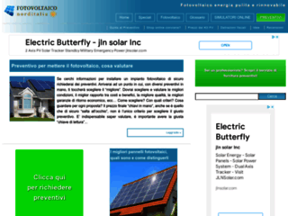 Fotovoltaico in Italia , Energia Solare Pulita e Rinnovabile - Fotovoltaiconorditalia.it