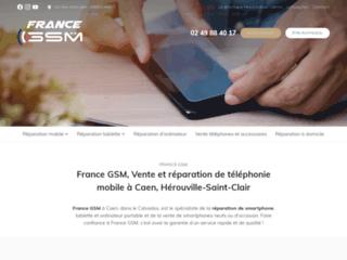 France GSM, Vente et réparation de téléphonie mobile à Caen, Hérouville-Saint-Clair