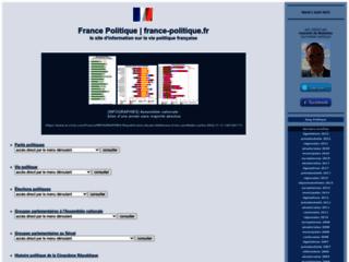 FRANCE POLITIQUE