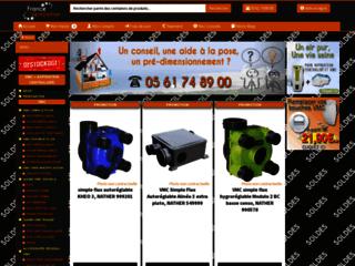 Site en ligne spécialisé en matériel vmc