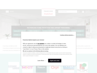 Capture du site http://www.franchise-habitat.fr