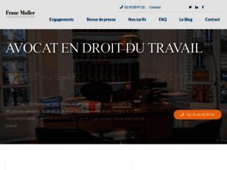 Franc Muller avocat au barreau de Paris depuis 1997
