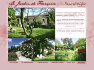 Chambres d'hôtes Avignon gîte de vacances Avignon : Le Jardin de Françoise