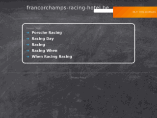 Francorchamps Racing Hotel