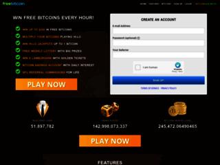 Détails : Gagnez des Bitcoins avec freebitco.in