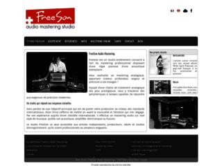 FreeSon audio mastering