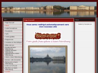 Votre guide francophone a Saint-P?rsbourg - Page d'accueil