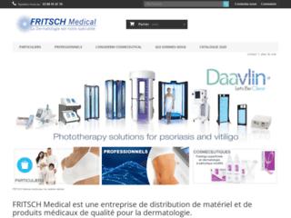 Fritsch-Medical spécialiste dermatologie sur http://www.fritsch-medical.fr