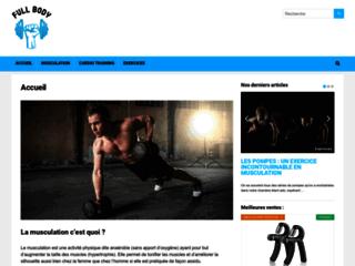 Tout savoir sur la musculation