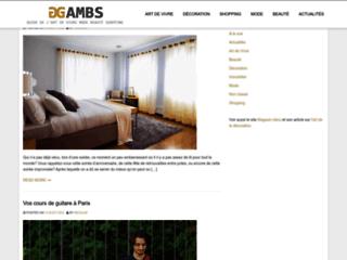 Détails : Gambs.fr : site Art de Vivre et décoration