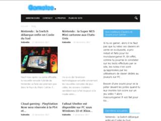 Aperçu du site Gamelee