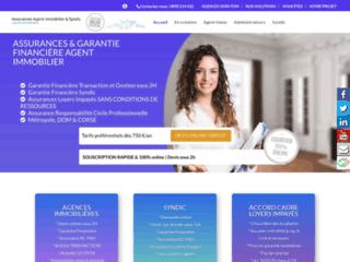Détails : Garantie financière agent immobilier moins cher