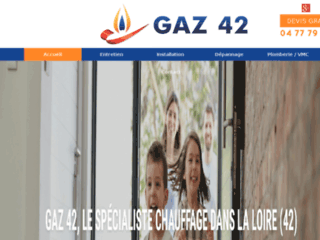 Chauffages : Gaz 42 à La Fouillouse 42