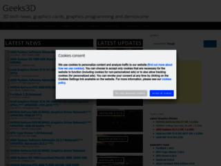 Geeks3d.com - Software e Utility gratis, GPU Caps Viewer, Test Video, Demo Video